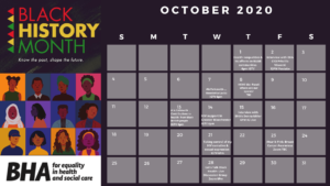 BHA Calendar of Events for Black History Month 2020